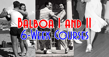 Swing Time's 6-Week Balboa Courses in Tampa, Level I & Level II, at Simone Salsa studio