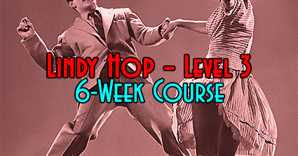 Swing Time's 6-Week Level-3 Lindy Hop Course in Tampa, Lindy Hop 3, at Simone Salsa studio