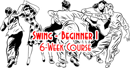 Swing Time's 6-Week Level-1 Swing Course in Tampa, SWING: Beginner I, Introduction & Foundations of Swing Dancing, at Simone Salsa studio