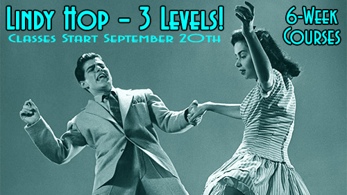 Swing Time's 6-Week Lindy Hop Courses in Tampa at Simone Salsa studio
