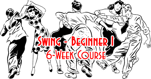 Swing Time's 6-Week Swing Courses in Tampa, Beginner I & Beginner II, Introduction & Foundations of Swing Dancing, at Simone Salsa studio