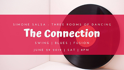 The Connection, Tampa Bay's 3-Room Dance with simultaneous Swing, Blues, and Fusion