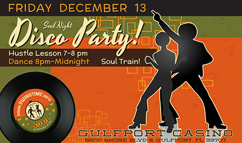 Soul Night the Second Friday of Every Month at the Gulfport Casino Ballroom in Tampa Bay Florida